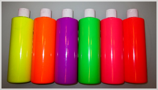 This Very Washable Non-Toxic Safe and Bright UV Paint will keep everyone  involved as each bottle ...